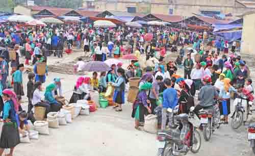 Chợ phiên Mèo Vạc | baotintuc.vn