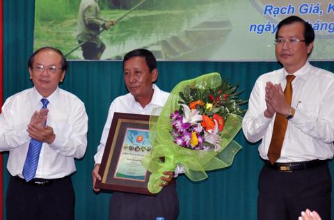 U Minh Thượng nhận chứng chỉ Vườn di sản ASEAN - kết quả xổ số gia lai