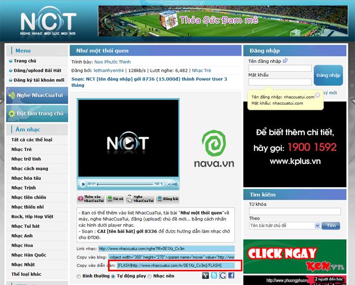 24H, FPT Online, Nhaccuatui bị tố vi phạm bản quyền âm nhạc | baotintuc.vn