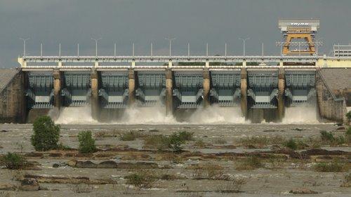 Đập Thủy Điện Trị An. Ảnh: Baodongnai.Com.Vn