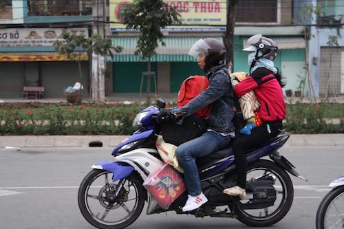 Image result for đi xe máy ăn tết