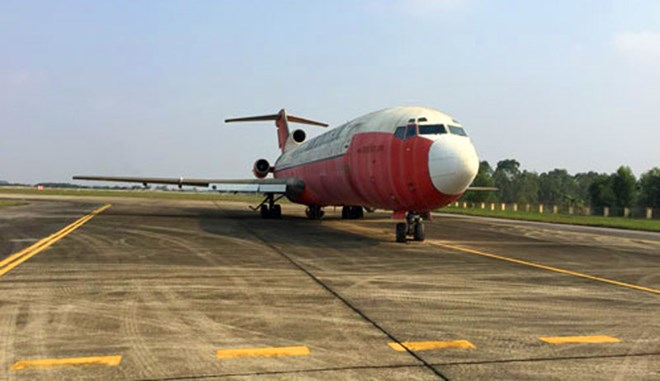 Xác định giá khởi điểm đấu giá tàu bay bị ''bỏ rơi'' ở Nội Bài
