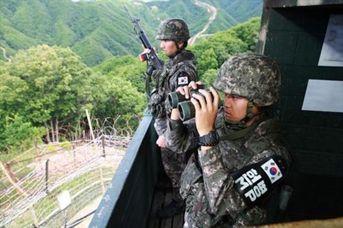 Quân đội Hàn Quốc bắn một vật thể bay qua biên giới