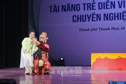 Khai mạc cuộc thi Tài năng trẻ diễn viên sân khấu tuồng, chèo chuyên nghiệp toàn quốc