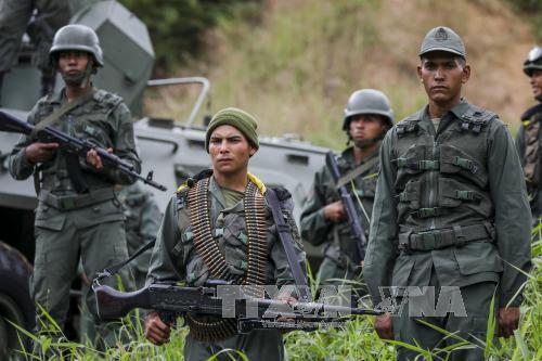 Venezuela bắt đầu diễn tập quân sự quy mô lớn