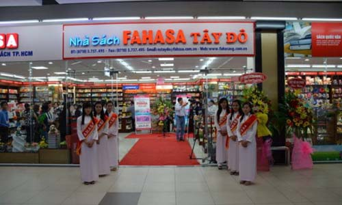 Fahasa với chuỗi 100 nhà sách | baotintuc.vn