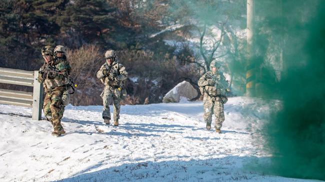 Mỹ tung ảnh tập trận xử lý vũ khí hủy diệt hàng loạt của Triều Tiên