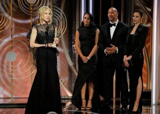 Quả cầu Vàng lần thứ 75: 'Big Little Lies' và 'Three Billboards' cùng thắng lớn