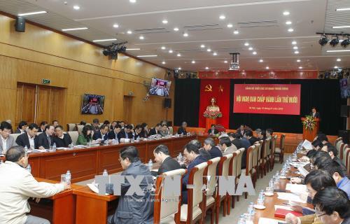 Xuất bản cuốn sách về Tổ chức đảng và đảng viên tiêu biểu Đảng bộ Khối các cơ quan Trung ương
