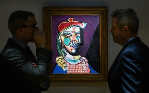 Lần đầu trưng bày bức tranh của danh họa Picasso tại Hong Kong