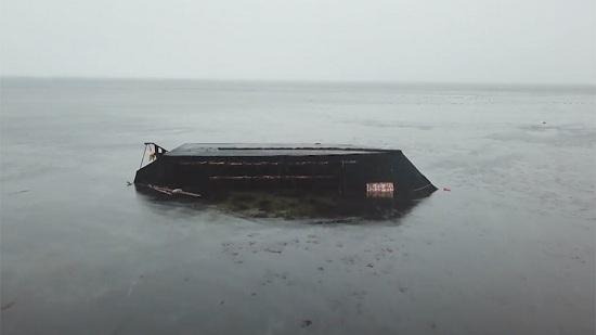 Video 'tàu ma' Triều Tiên đầy xác người dạt bờ Nhật Bản