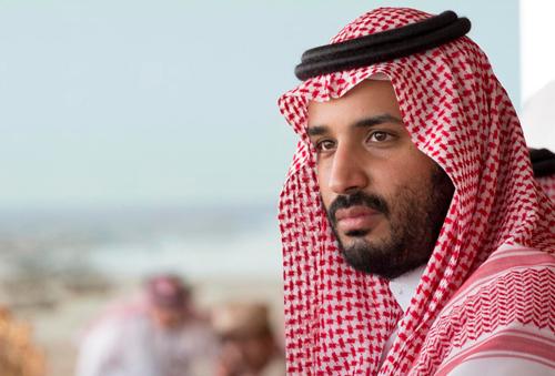 Thái tử Saudi Arabia Mohammed bin Salman.