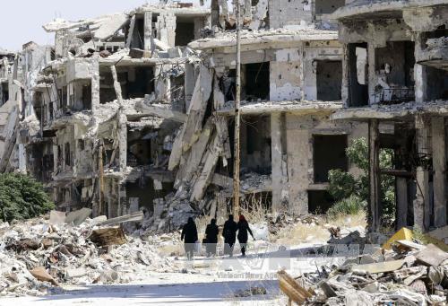 Nga kêu gọi cộng đồng quốc tế giúp tái thiết Syria