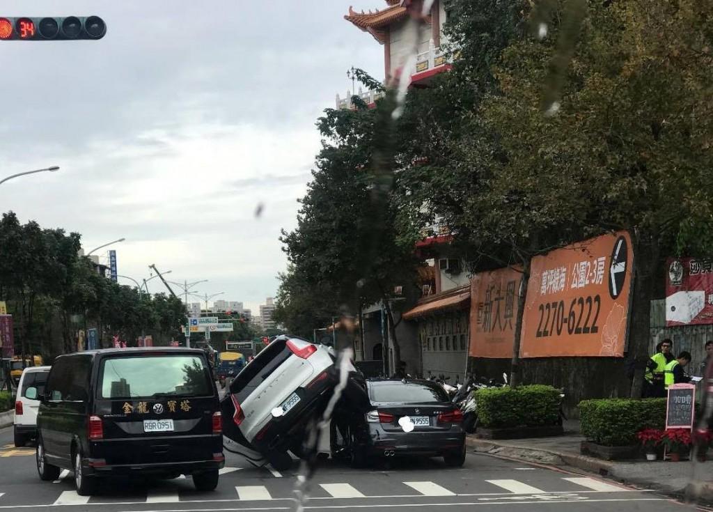 Hình ảnh hiện trường vụ việc. Ảnh: China Times