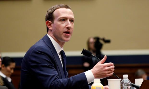 CEO của Facebook Mark Zuckerberg. Ảnh: Reuters