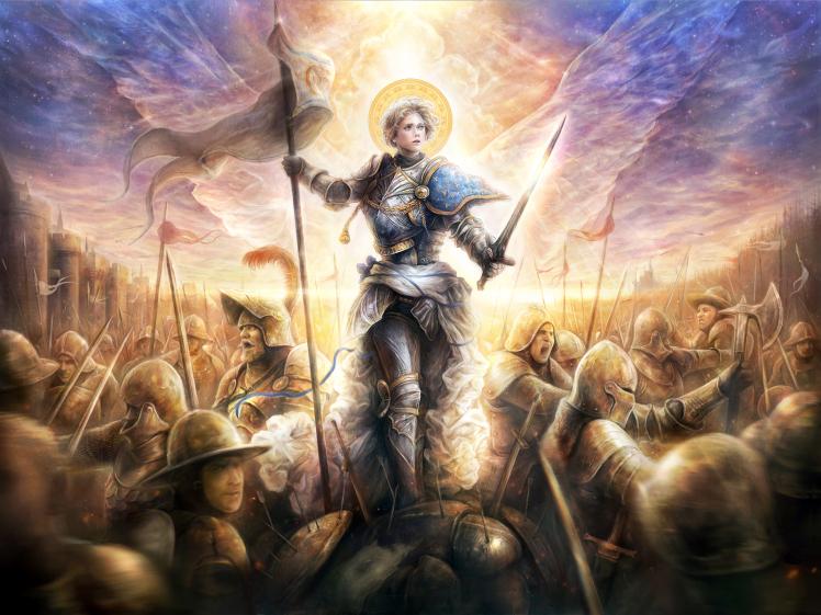 """Jeanne d""""Arc – nữ chiến binh thần thánh Pháp chết trong lửa thiêu"""