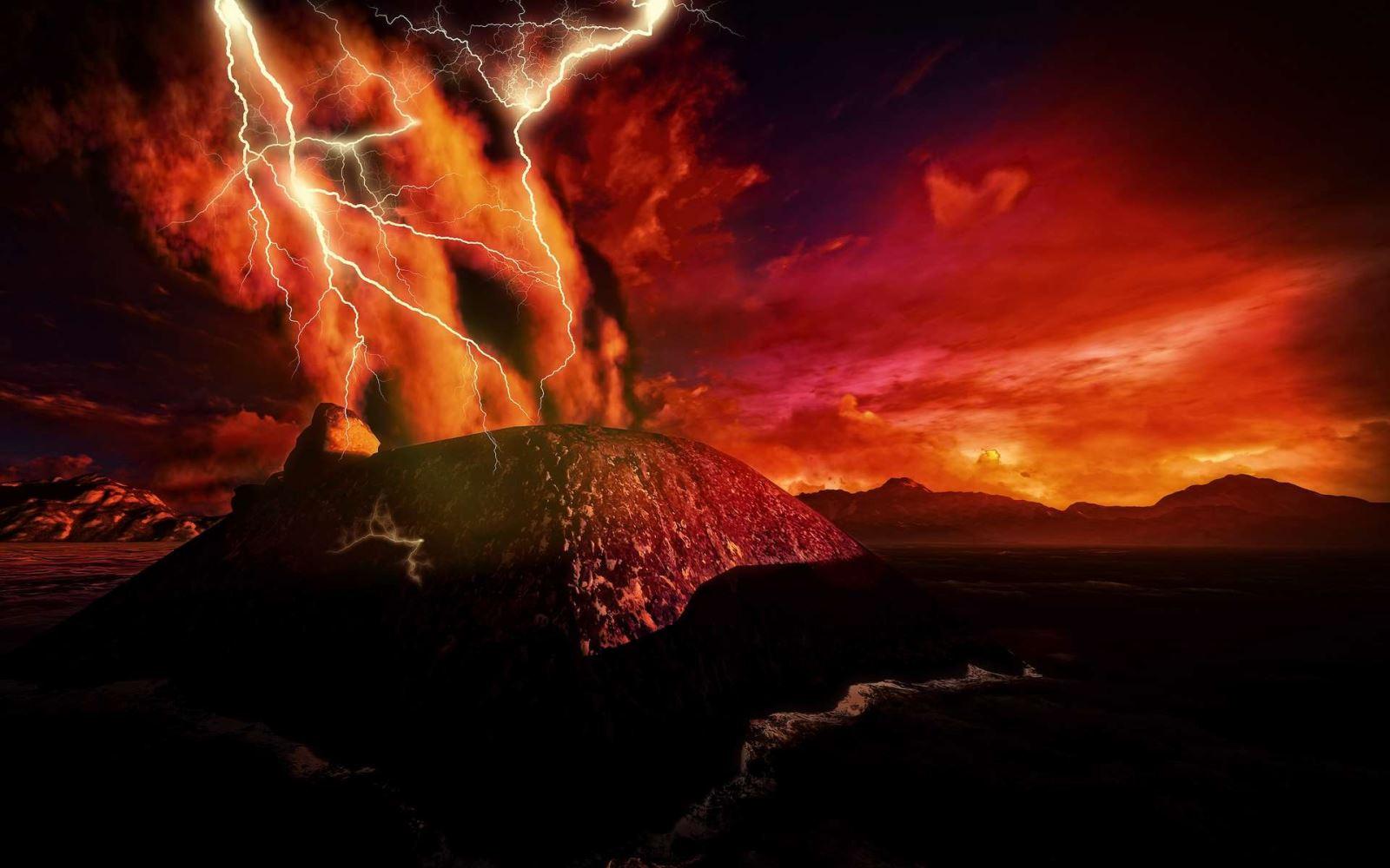 Sao Hoả sống sót qua 500 triệu năm bị 'nấu' bởi siêu núi lửa phun trào