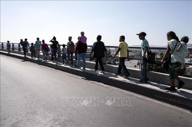 Mỹ bắt giữ 42 người di cư tại biên giới Mexico