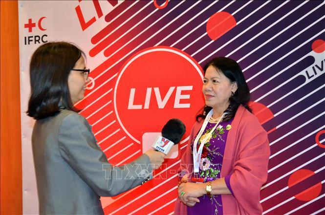 Vai trò nòng cốt trong các hoạt động nhân đạo của Hội Chữ thập Đỏ Việt Nam
