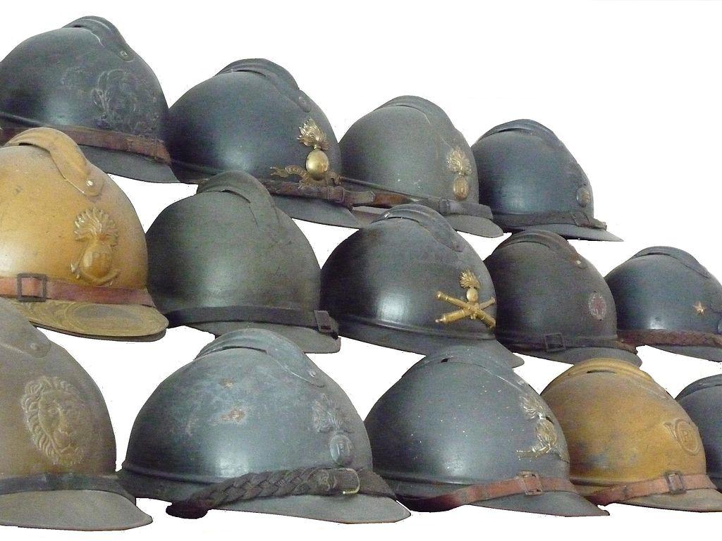 Khả năng bảo vệ đáng kinh ngạc của mũ chiến đấu trong Thế chiến thứ nhất
