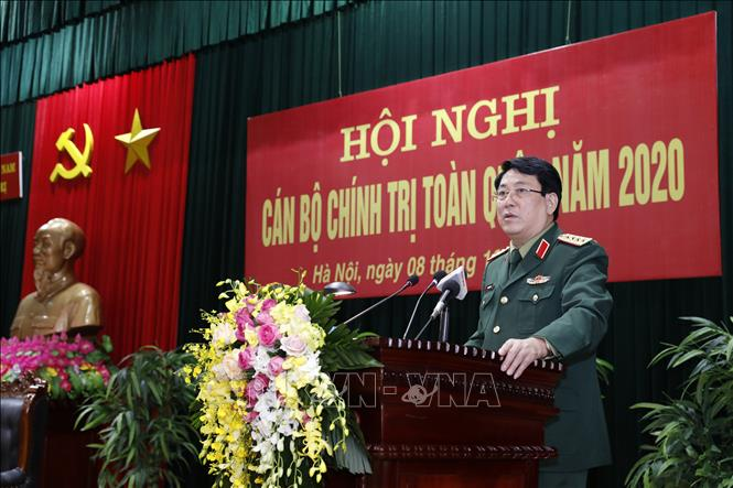 Quân đội triển khai toàn diện nhiệm vụ công tác Đảng, công tác chính trị năm 2021