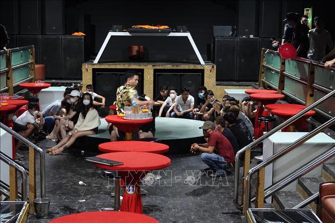 33 đối tượng dương tính với ma túy tại một quán bar ở Tây Ninh