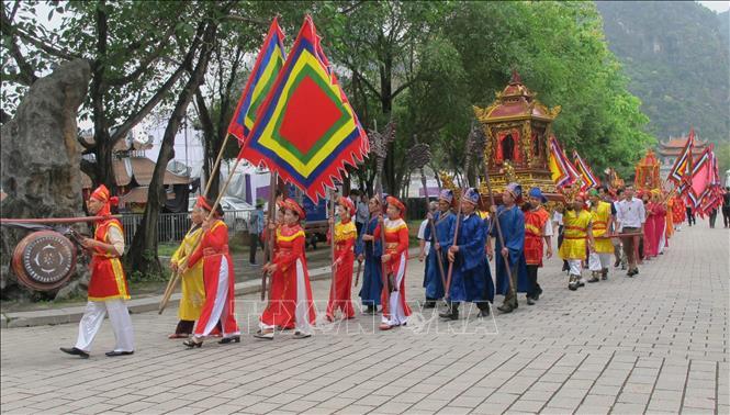 Dừng tổ chức lễ khai mạc, không tổ chức phần hội tại Lễ hội Hoa Lư năm 2021