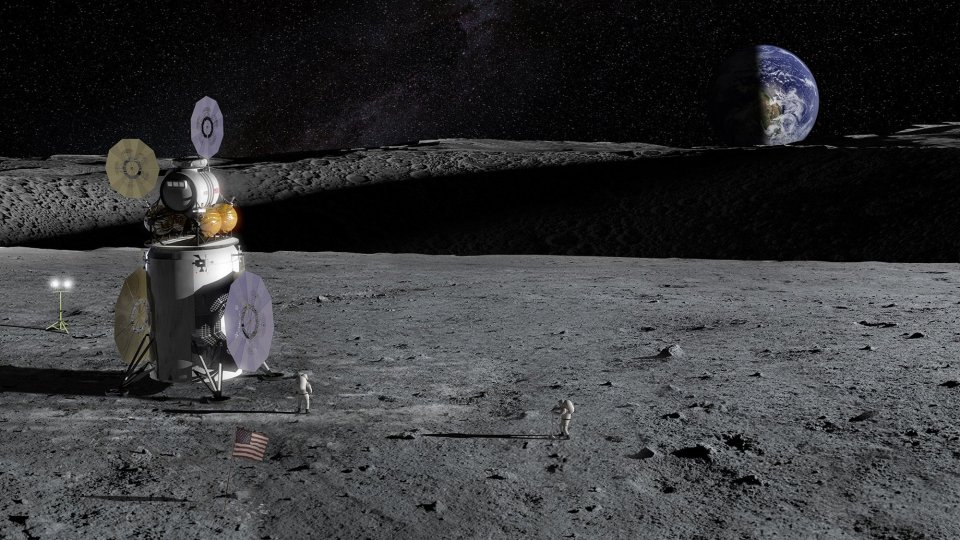 Mỹ tính bắt đầu hoạt động khai mỏ trên Mặt Trăng từ năm 2025