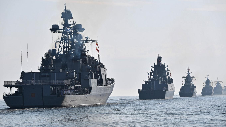 Nga điều 15 tàu chiến tập trận ở Biển Đen, 'nghênh tiếp' 2 tàu khu trục Mỹ