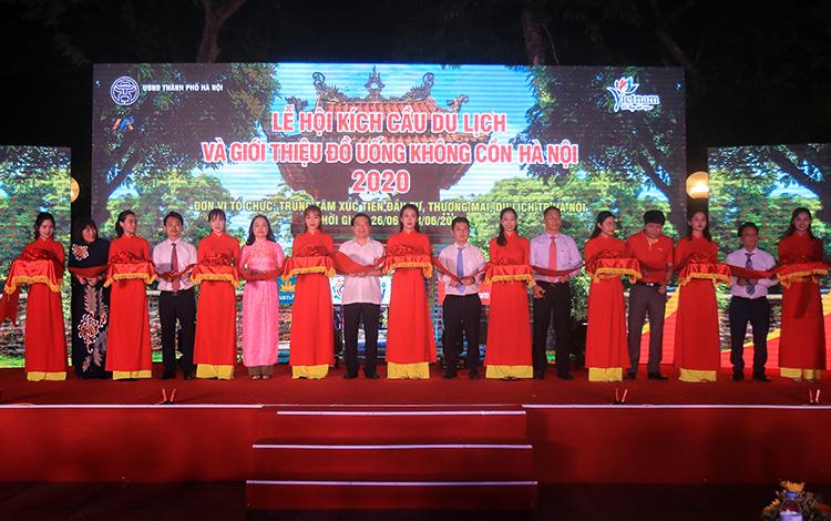 Khai mạc 'Quảng bá điểm đến Văn hóa – Du lịch Hà Nội 2020'