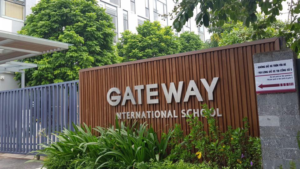 Trường Gateway. Ảnh: Lê Vân/Báo Tin tức.