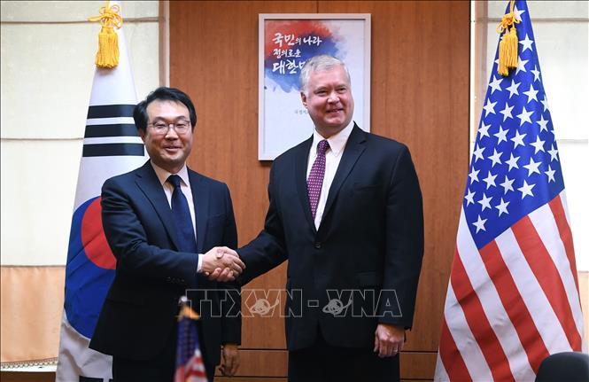 Hàn - Mỹ phối hợp chặt chẽ về vấn đề Triều Tiên