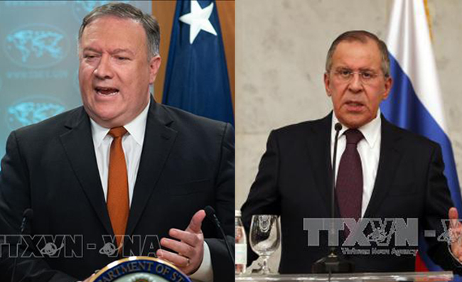 Ngoại trưởng Nga, Mỹ thảo luận hàng loạt vấn đề nóng