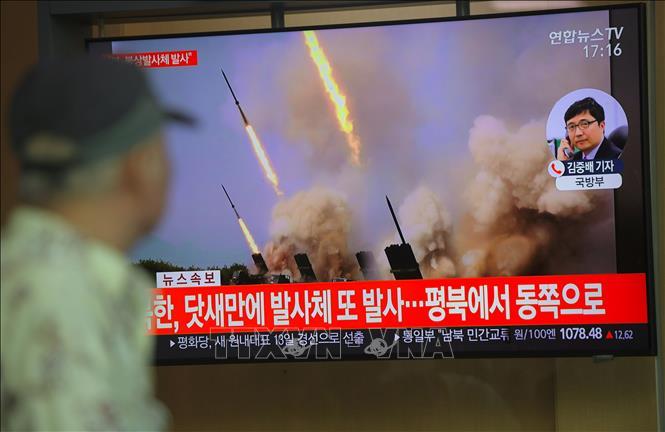 Quân đội Hàn Quốc: Triều Tiên có thể vừa phóng tên lửa tầm ngắn