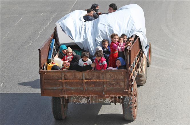 Trên 150.000 người mất nhà cửa do xung đột tại Syria tuần qua