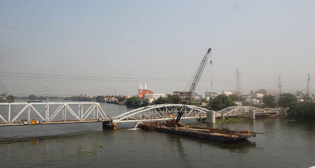 Đề xuất bảo tồn nguyên trạng một phần cầu đường sắt Bình Lợi