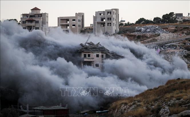 EU hối thúc Israel ngừng phá hủy nhà của người Palestine ở ven Bờ Tây
