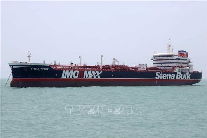 Iran thông báo kế hoạch thả tàu chở dầu Anh Stena Impero