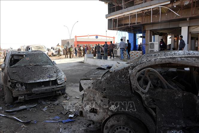 Danh bom xe buyt tai thanh pho thanh dia Iraq, it nhat 12 nguoi thiet mang