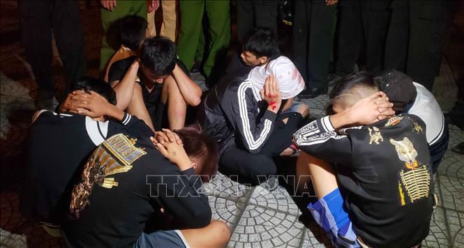 Vụ đua xe tại Vĩnh Phúc: Khởi tố hai bị can về hành vi ''Chống người thi hành công vụ''