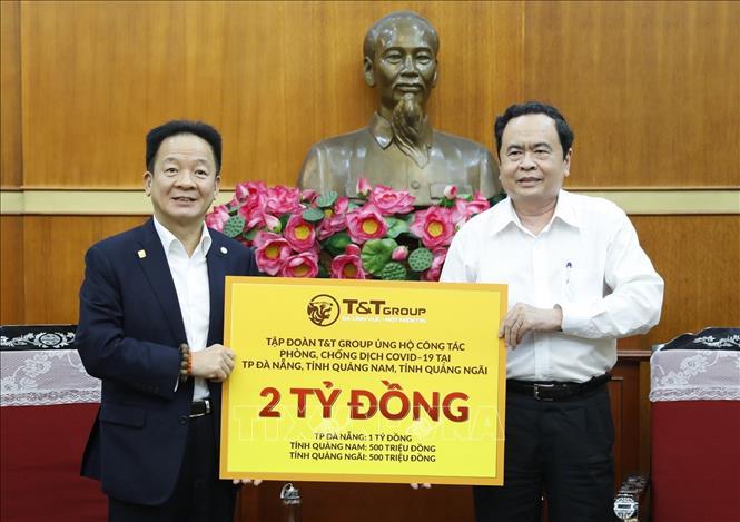 Ủng hộ 6,1 tỷ đồng cho cuộc chiến chống dịch COVID-19 tại miền Trung