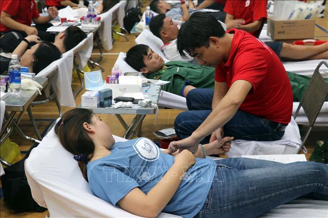 Hành trình Đỏ tiếp nhận hơn 800 đơn vị máu tại TP Vũng Tàu