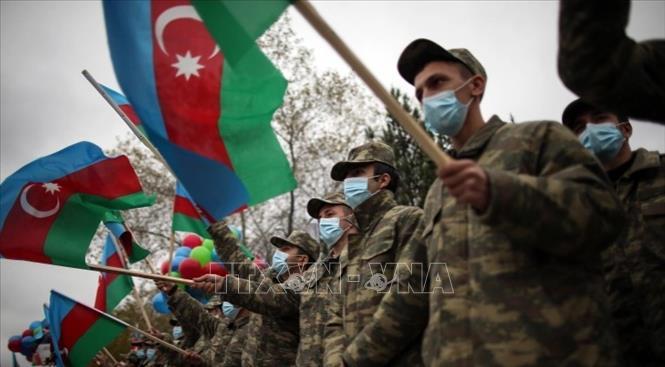 10.000 binh sĩ Azerbaijan tham gia diễn tập chống khủng bố quy mô lớn