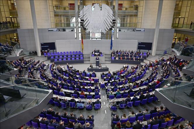 Quốc hội liên bang mới của Đức chính thức họp phiên đầu tiên