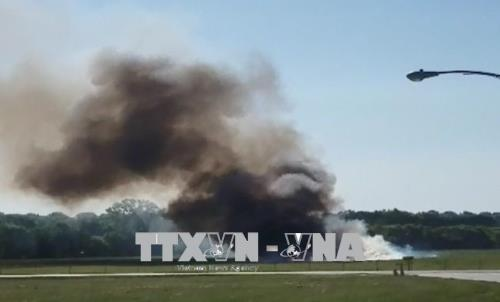 Máy bay rơi xuống căn cứ quân sự tại Mỹ làm 4 người thiệt mạng