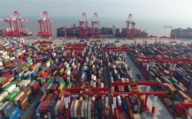Xuất - nhập khẩu của Trung Quốc tăng trưởng chậm trong tháng 8 | baotintuc.vn