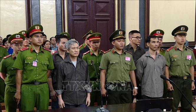 5 đối tượng trong nhóm hoạt động nhằm lật đổ chính quyền lãnh án 57 năm tù giam