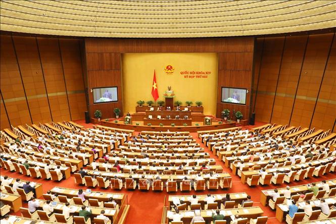 Kỳ họp thứ 6, Quốc hội khóa XIV: Thông cáo báo chí số 1