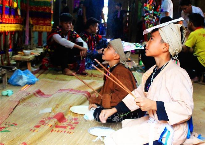 Điện Biên: Công bố di sản văn hóa phi vật thể quốc gia Lễ cấp sắccủa đồng bào Dao