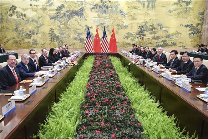 Mỹ, Trung Quốc tiếp tục vòng đàm phán thương mại thứ 7